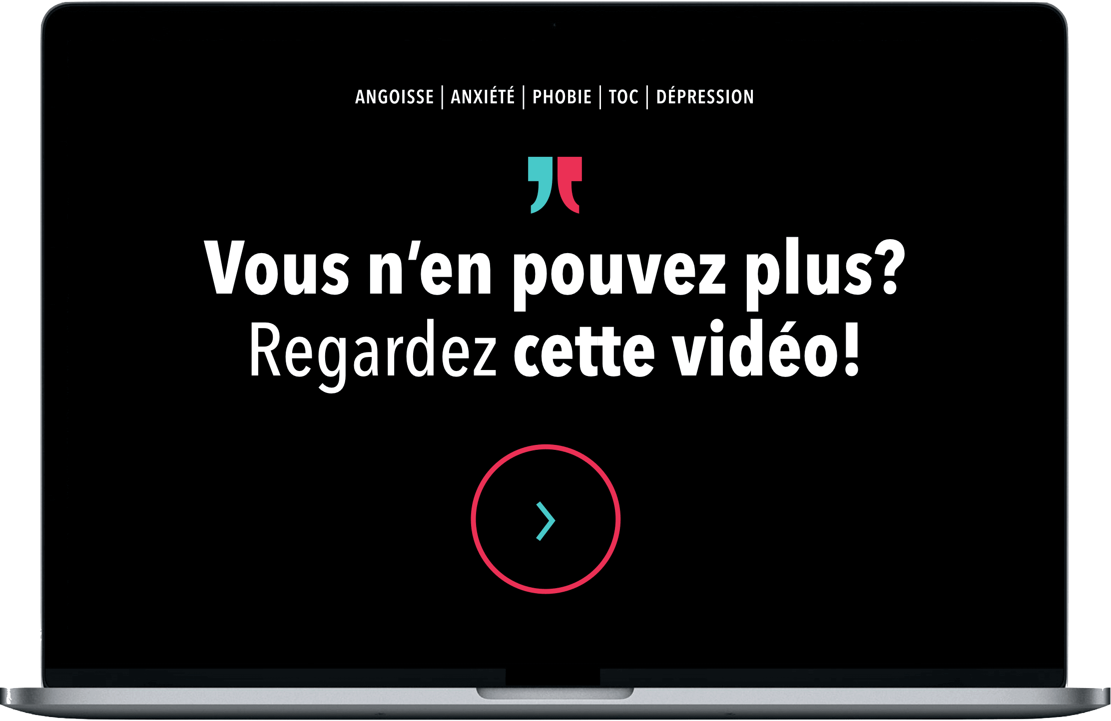 Vous souffrez d'angoisse, d'anxiété, de phobie, de dépression, ou de toc? Découvrez une solution révolutionnaire